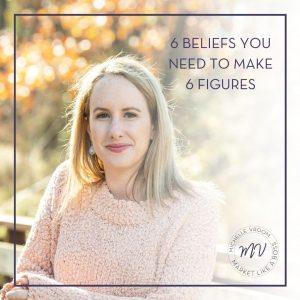 6 BELIEFS YOU NEED TO MAKE 6 FIGURES